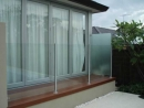 Pool fence with Privacy screen
